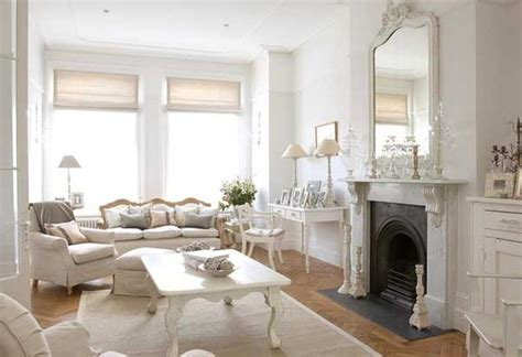white home interiors 20 distressed shabby chic living room designs to inspire