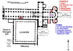 Cathedral Floor Plan Norwich Cathedral Plans And Drawings