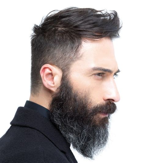 hairstyles that go with a moustache undercut hairstyle with beard www pixshark com images
