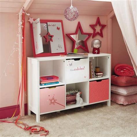 Charmant Meuble Rangement Jouet Fille #3: .meuble_bas_6_casiers_pour_chambre_de_fille_ranger_livre_et_jouets_dans_chambre_fille_coloris_rose_et_blanc_meuble_deco_chambre_fille_m.jpg