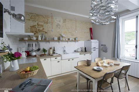 decoration maison bord de mer deco bord de mer salon avec cuisine moderne pays idees de