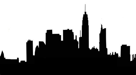 City Outline Vector houston skyline outline clipart best