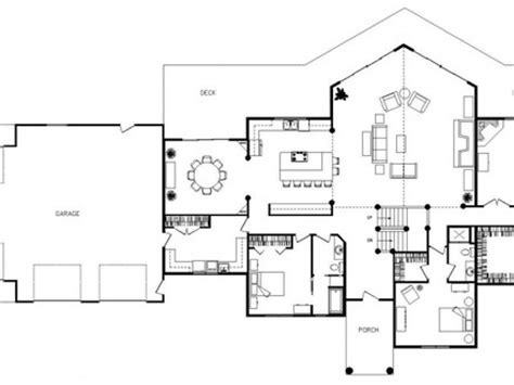 unique house plans with open floor plans unique open floor plan homes modern open floor plans open