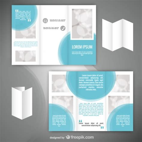 minimalist flyer template vector