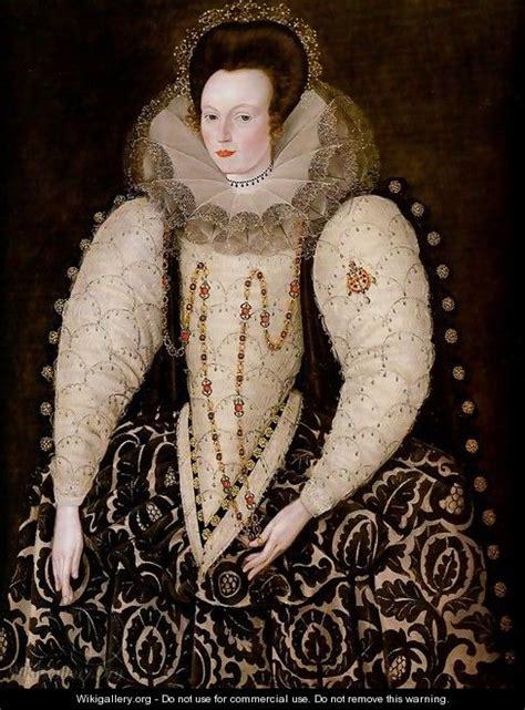 file lady elizabeth pope by robert peake jpg wikimedia commons frances lady reynell of west ogwell devon robert