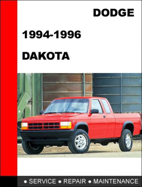 dodge dakota 1994 1996 workshop service repair manual download ma