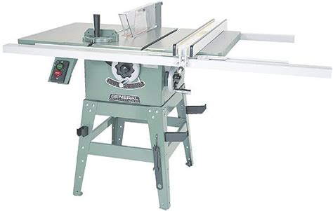 general international 10 quot table saw tools supplies and