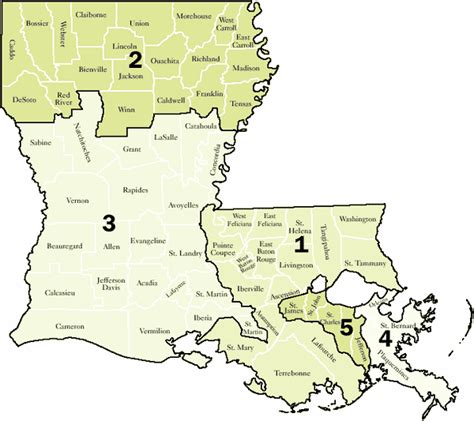 Louisiana State Court Search Myfairdebt View Topic Louisiana State Courts Of Appeal Districts