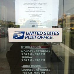 Mail Office Hours by Us Post Office Post Offices Merced Manor San