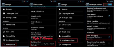 how to enable usb debugging on android from computer come si attiva il debug usb su android adsmcard