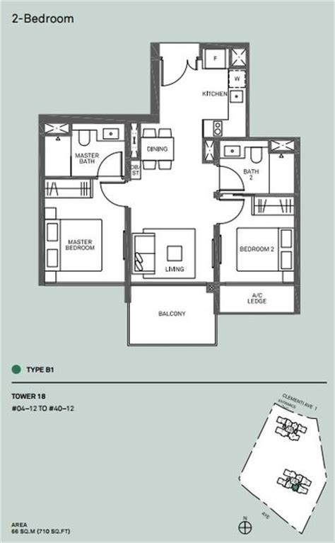canopy floor plan clement canopy new launch condo near clementi nus