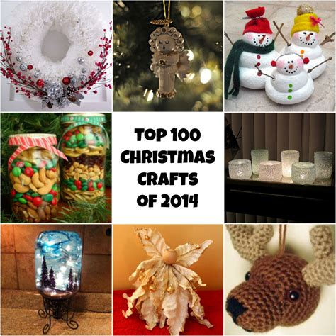 gift ideas for home decor top 100 diy christmas crafts of 2014 homemade christmas