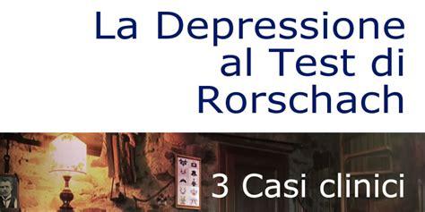 test per depressione depressione al test di rorschach