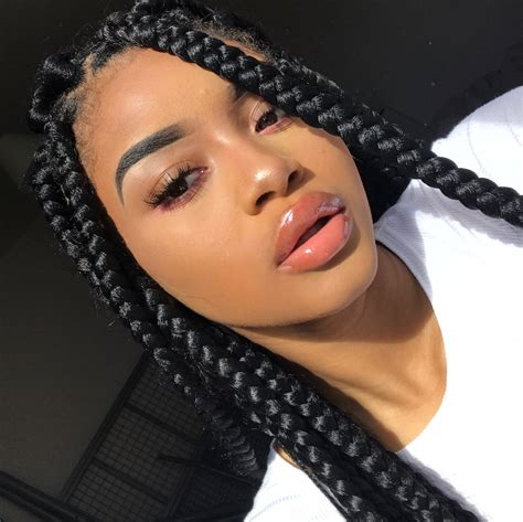 slick box braids 28 6k likes 282 comments kenza boutrif 6kenza on