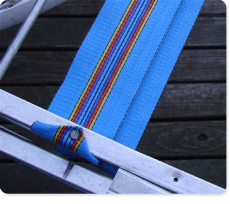 vintage fixing re webbing a patio chair