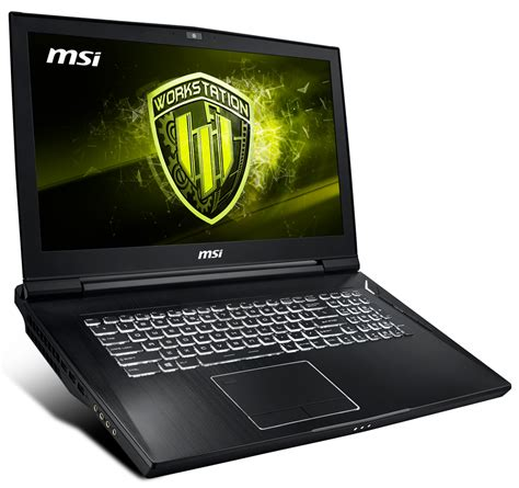 buy msi wt75 8sk xeon e workstation 4k laptop with 1tb ssd and 48gb ram at evetech co za