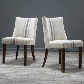 Christopher Knight Home Harman Blue and Ivory Dining Chair