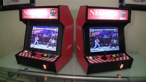 bar top arcade neo geo bartop arcade system youtube