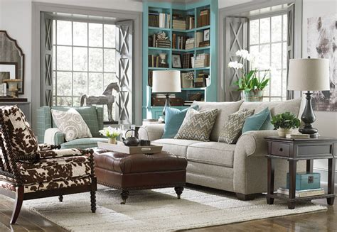 bassett living room furniture hgtv home custom upholstery large sofa by bassett