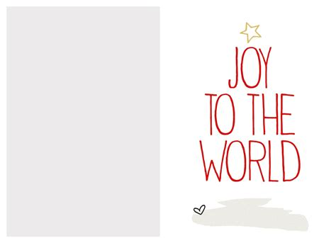printable christmas postcards cute christmas card templates printable svoboda2 com