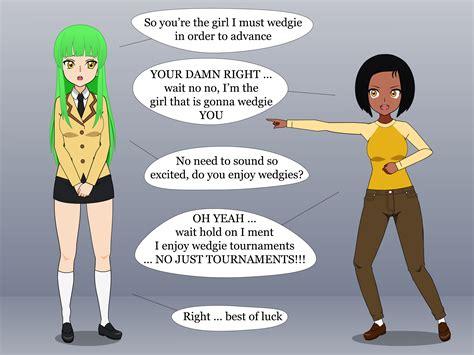 fandom wedgie tournament match 4 c c vs alex by arghtime