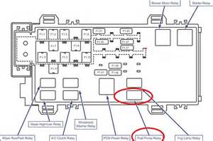 fuse box diagram 2004 ford ranger auto parts diagrams