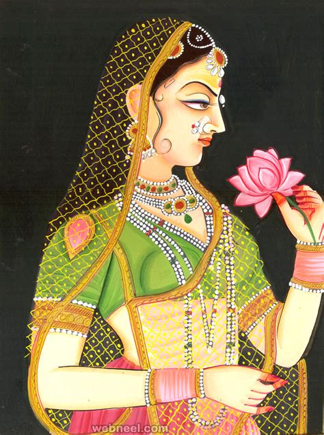 indian painting 45 beautiful rajasthani paintings traditional indian