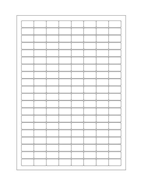 Cryo Label Template cryo labels on sheets for laser printers 24mm x 13mm a4