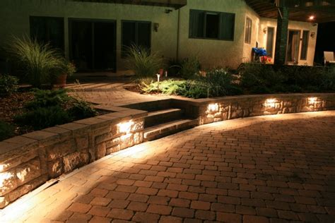Landscape Lighting Nj Led Landscape Lighting Nj Borst Landscape Design