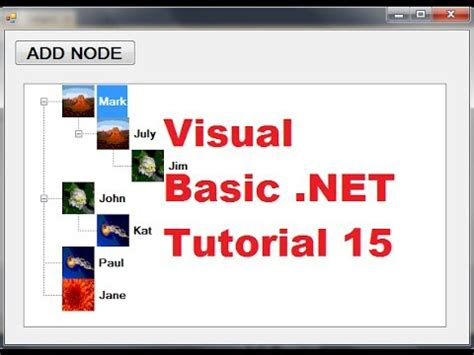 tutorial visual basic c excel vba atelier treeview vidjoop
