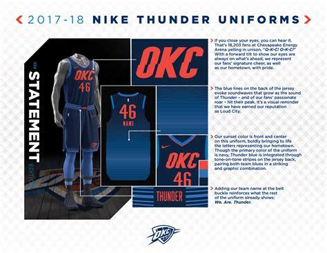 okc thunder fan shop thunder alternate makes a statement oklahoma