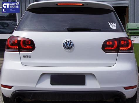 vw gti led lights mk6 golf r style clear led lights for vw golf vi
