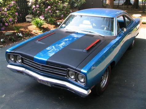 1969 plymouth roadrunner 426 hemi 1969 hemi roadrunner s matching b5 blue 4 spd