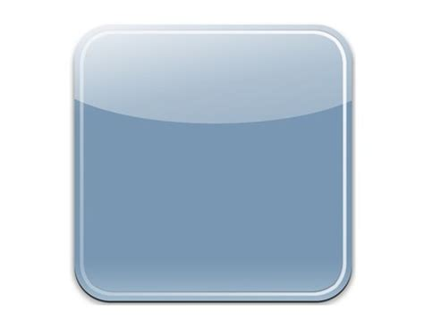 blank app template free sleek blue blank ios app icon psd template titanui