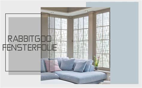 Sichtschutzfolie Fenster Statisch Haftend Anbringen by Rabbitgoo Fensterfolie Statisch Haftend Sichtschutzfolie