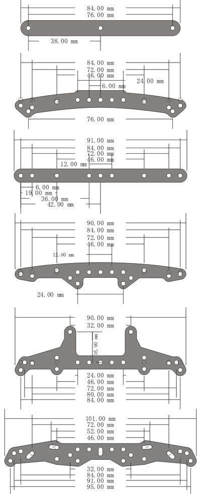 Tamiya 94727 Hg Carbon Side Extension Roller Mount Rear 95 best tamiya mini 4wd images on
