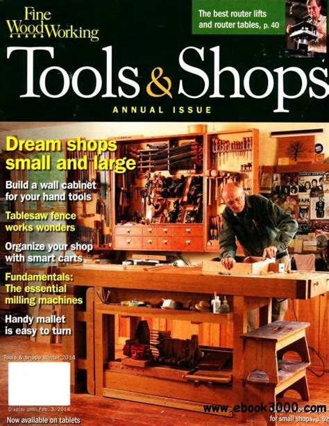 fine woodworking tools shops winter