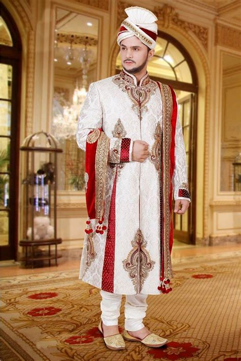 traditional  contemporary dressing   muslim groom