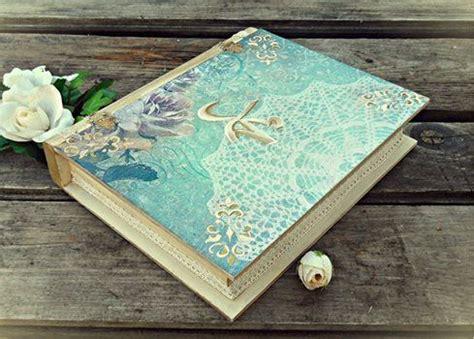 Decoupage Books - vintage book box islam mohammed decoupage by adisa