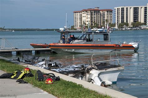 uscg punt boat vacation florida boat fire mar 2017