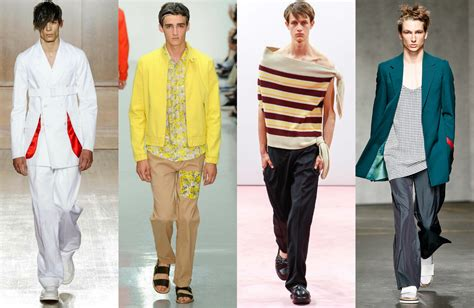 mens fashion trends spring summer 2015 london collections men 2015 spring summer trends