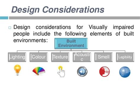 preschool children as a user group design considerations visually impaired as a design challenge