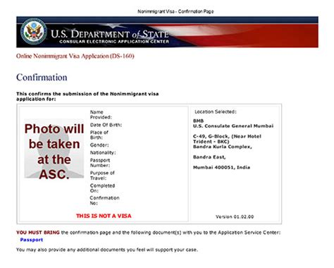 print appointment letter us visa documents you must carry