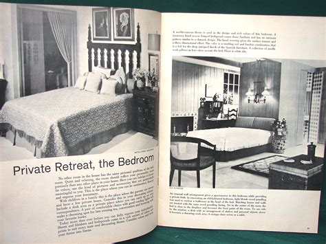 1963 home decor home decorating ideas 1963 interior design book ebay