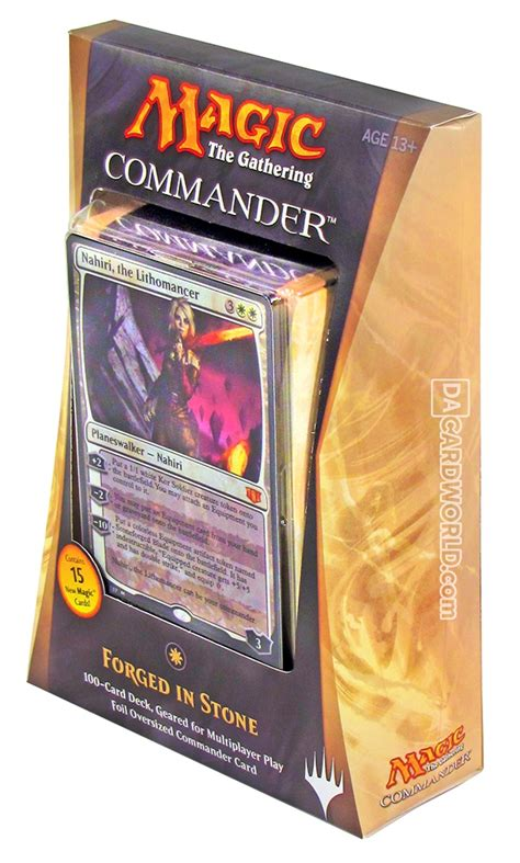 mtg commander decks 2014 magic the gathering commander deck 2014 forged in