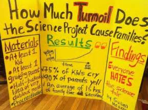 science fair project findings are 100 accurate funny