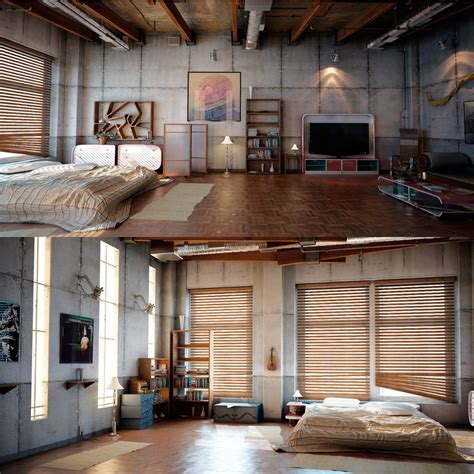 industrial apartment industrial apartment love living little pinterest