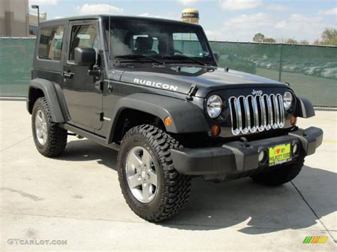 charcoal black jeep 2010 charcoal pearl jeep wrangler rubicon 4x4