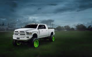 Dodge Truck Pictures Dodge Ram Car Truck Suv Tuning White Hd Wallpaper