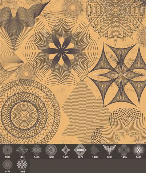 abstract pattern photoshop free download abstract pattern brushes set photoshop brushes free download